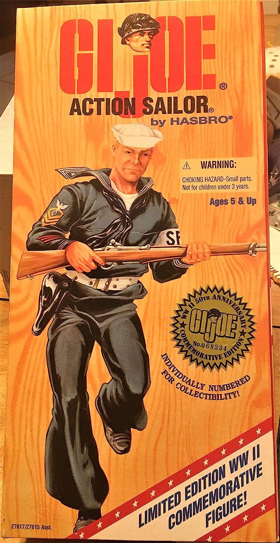 "Joe Limited Edition 12/"" Commemorative Action Sailor G.I"
