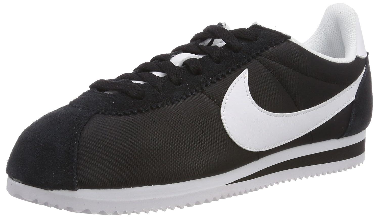 Nike Wmns Classic Cortez Nylon, Zapatillas de Running para Mujer 40 EU|Blanco (Blanco (Black/White))
