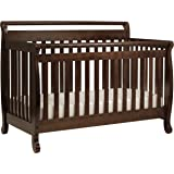DaVinci Emily 4-in-1 Convertible Crib in Espresso Finish