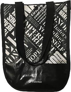 c97721b8ac Lululemon 20th Anniversary Small Reusable Tote Carryall Gym Bag (Black)