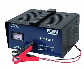 Ferm BCM1018 - Cargador de batería (12 V): Amazon.es ...