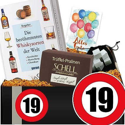 Zahl 19 Geschenkidee Whiskey 19 Hochzeitstag Geschenk Amazon