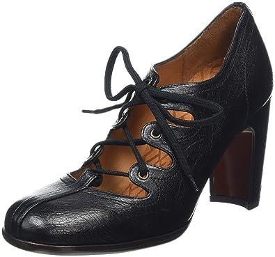 Aspen, Richelieu Femme - Noir - Black (Gloria Negro), 38 EU (5 UK)Chie Mihara