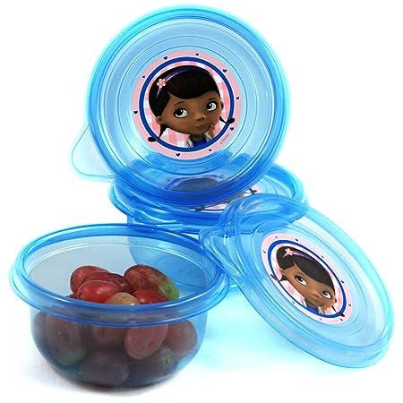 3pk Disney Doc McStuffins pequeñas recipiente para alimentos ...