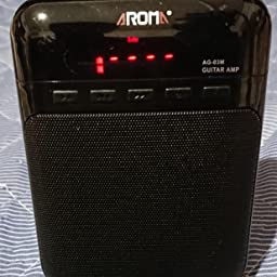 Amazon Co Jp Aroma Guitar Amplifier Electric Guitar Acoustic Guitar Usb Sdcard Music Mic Musical Instruments