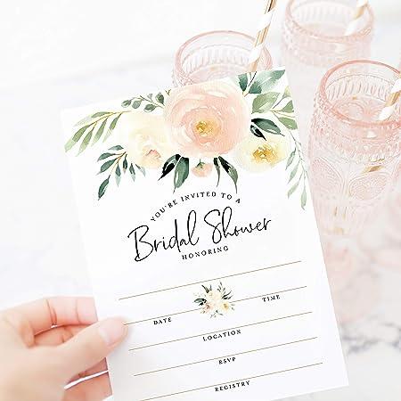 Bride /& Groom Watercolor Card Wedding Shower Card for Daughter Cute Watercolor PrintAnniversary