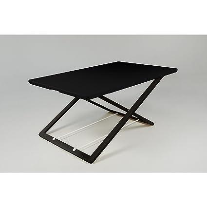 Freedesk Slim Adjustable Desk Riser 21x32 Inch (Black)