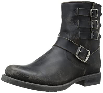 Women's Veronica Belted Short-Sto Moto Boot