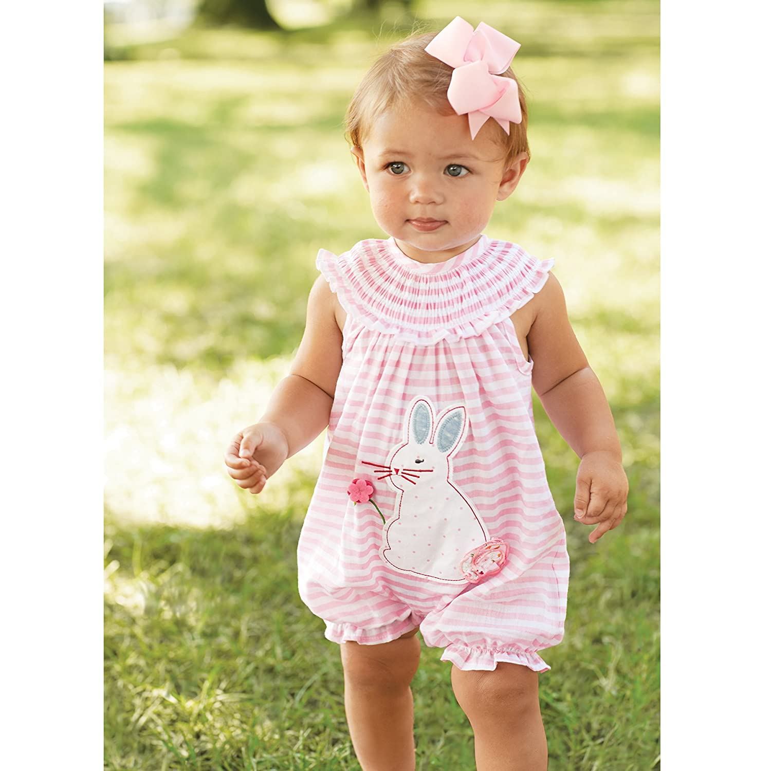 Amazon mud pie baby girls bunny bubble clothing geenschuldenfo Choice Image