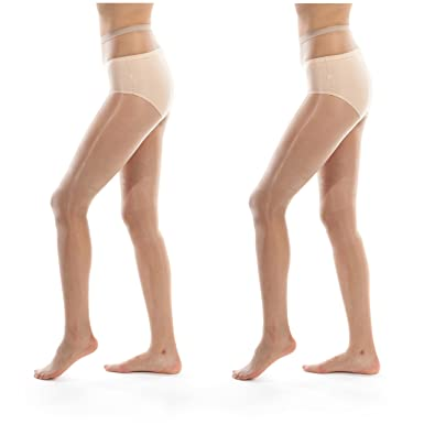 73b02f252 ElsaYX Women s 1D Ultra Sheer Shiny Glossy Crotchless Pantyhose  Amazon.co.uk   Clothing