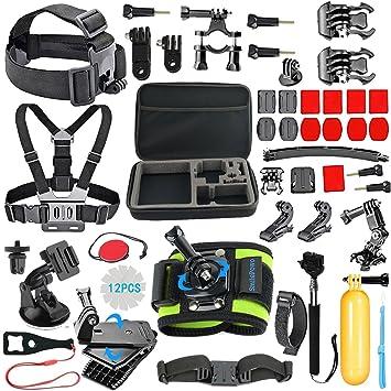 Amazon.com : SmilePowo Outdoor Sports Camera Accessories for GoPro ...