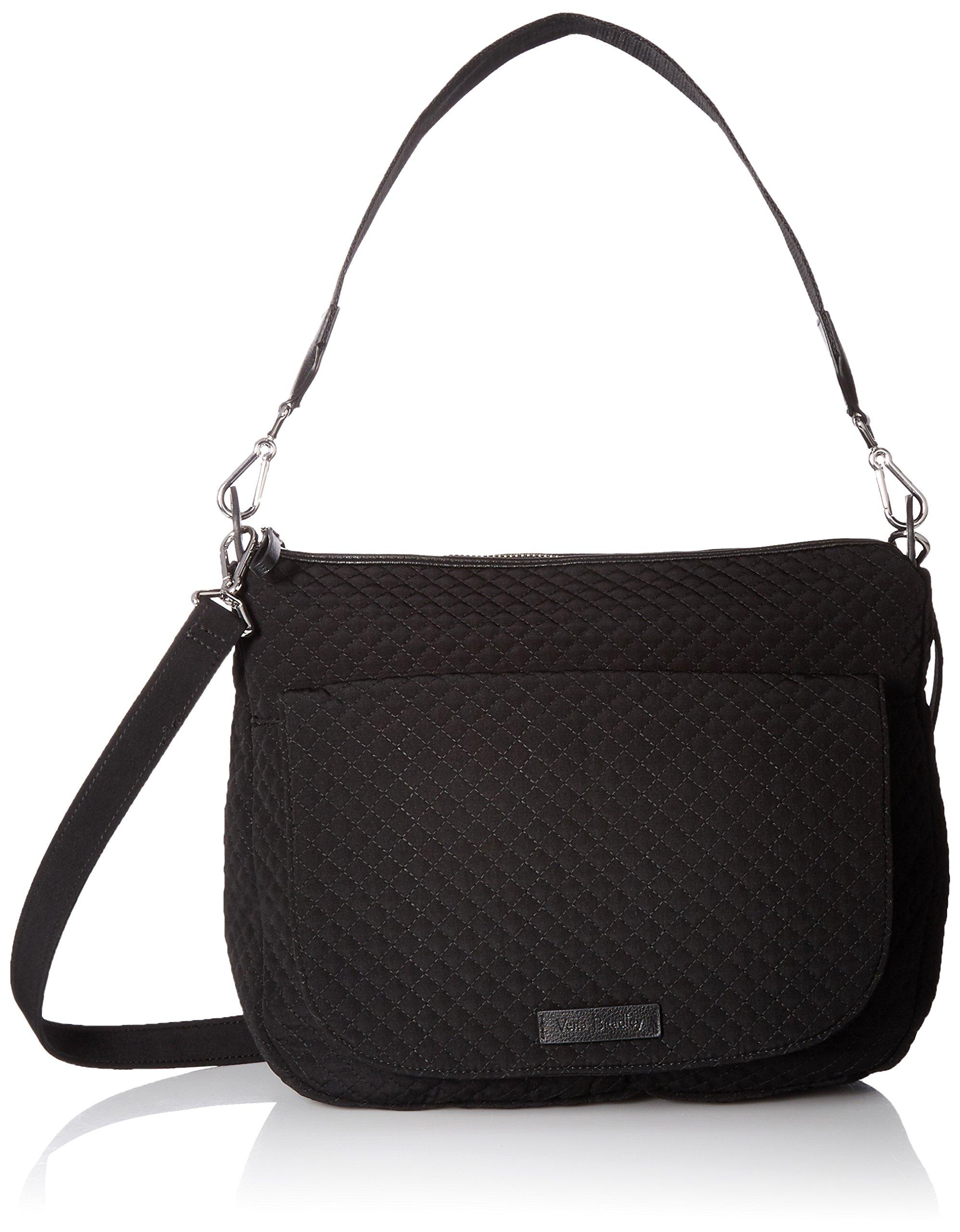 Vera Bradley Carson Shoulder Bag, Classic Black