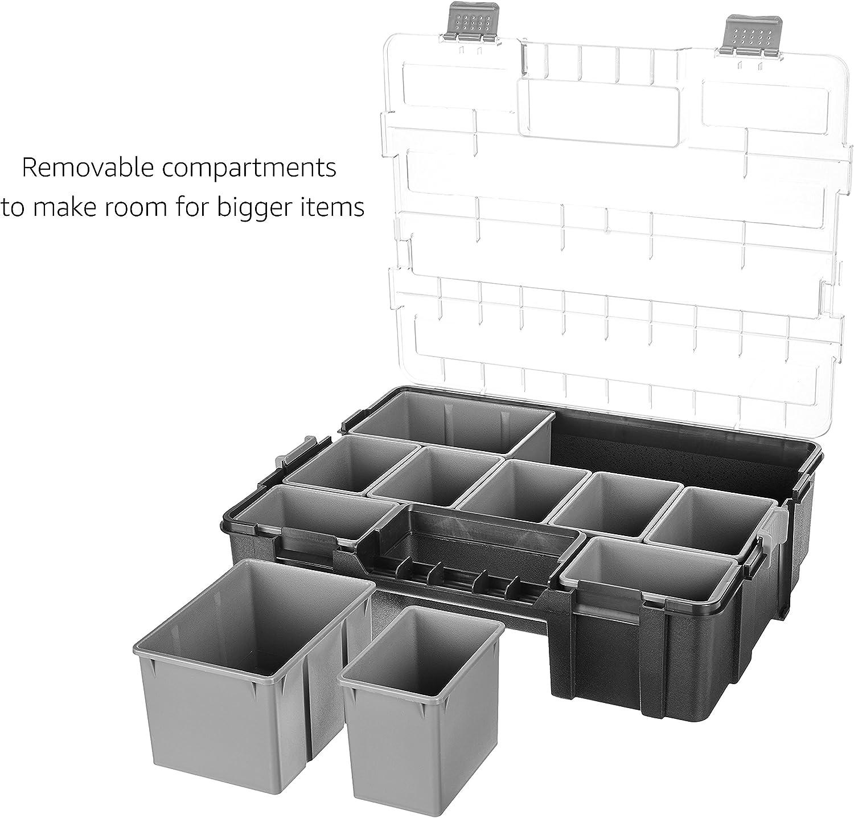 Basics Organizador de herramientas con 10 compartimentos
