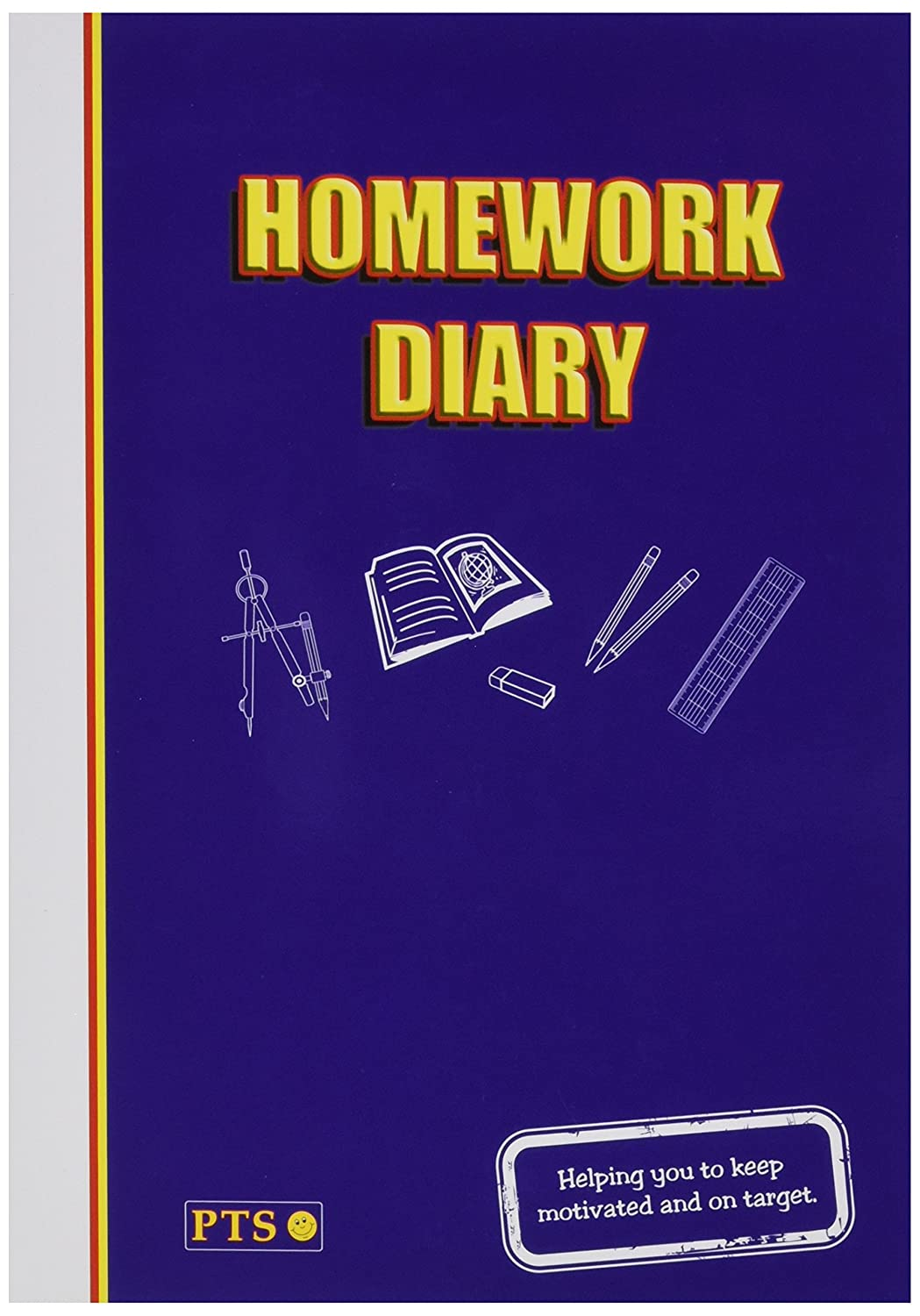 104 Page Homework Diary A5 - Primary Teaching Services Primary Teaching Services Ltd NHWB1