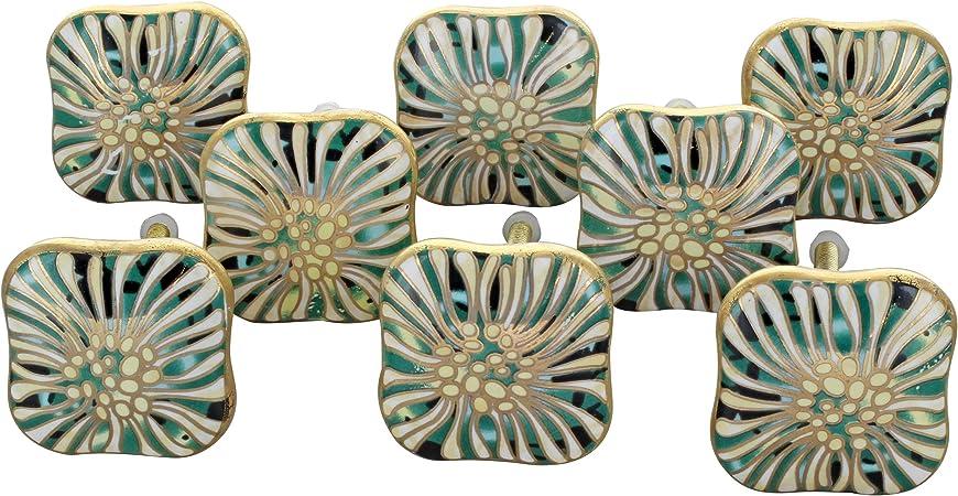 Shabby Chic Vintage Milano.G Decor Milano Collection Iii Ceramic Door Knobs Vintage Shabby