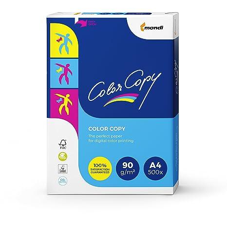 Color copy - Papel A4 90 Gr Paquete 500 Hojas: Amazon.es: Oficina ...