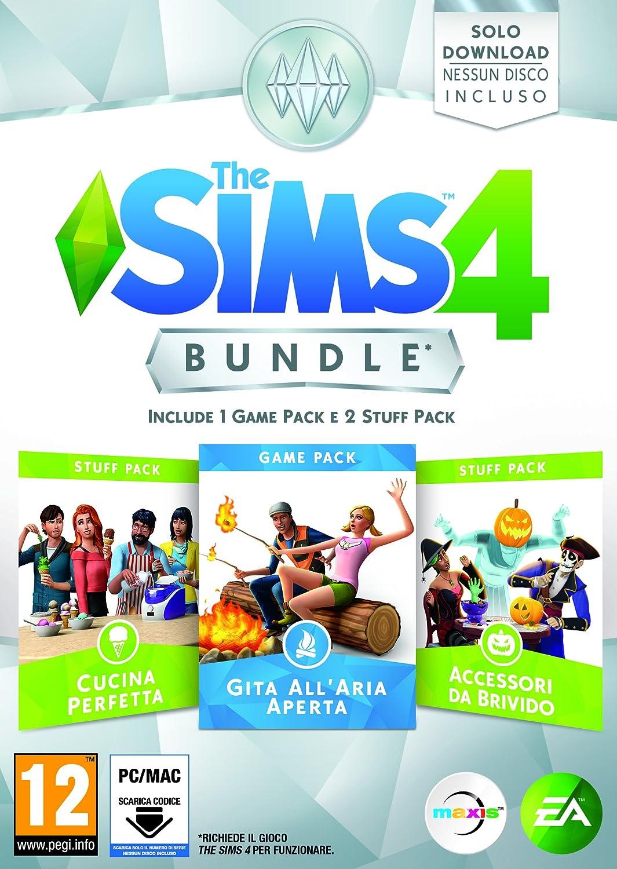 The Sims 4 - Bundle 3 Pack: Gita AllAria Aperta, Cucina Perfetta ...