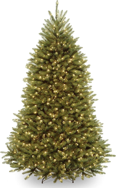 National Tree Dunhill Fir Tree, 7', Green