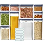 OXO Good Grip 10-Piece POP Container Set with 10 Labels