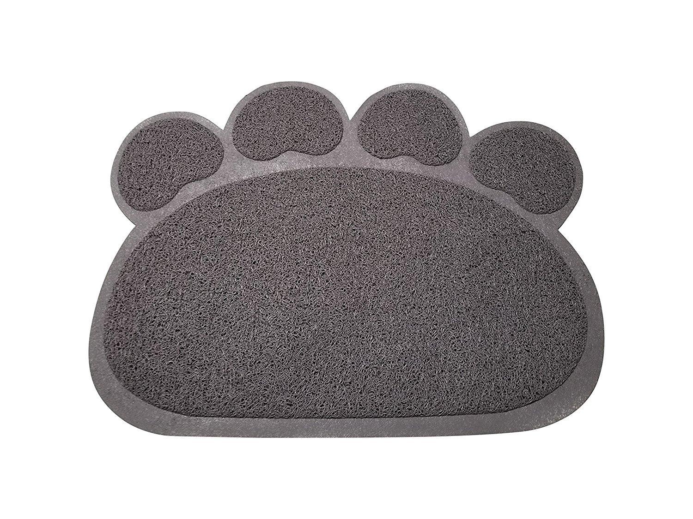 Mighty Pets Dog Bowl Mat - Cat Bowl Mat - Non-Slip Absorbent Mat - Waterproof...