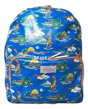 Cath Kidston Kids Backpack Rucksack Shiny Oilcloth Dino Blue Amazon