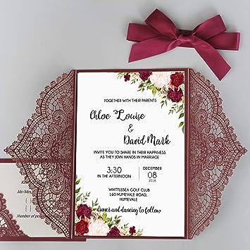 Amazoncom Picky Bride Wedding Invitations Customized Wedding Cards