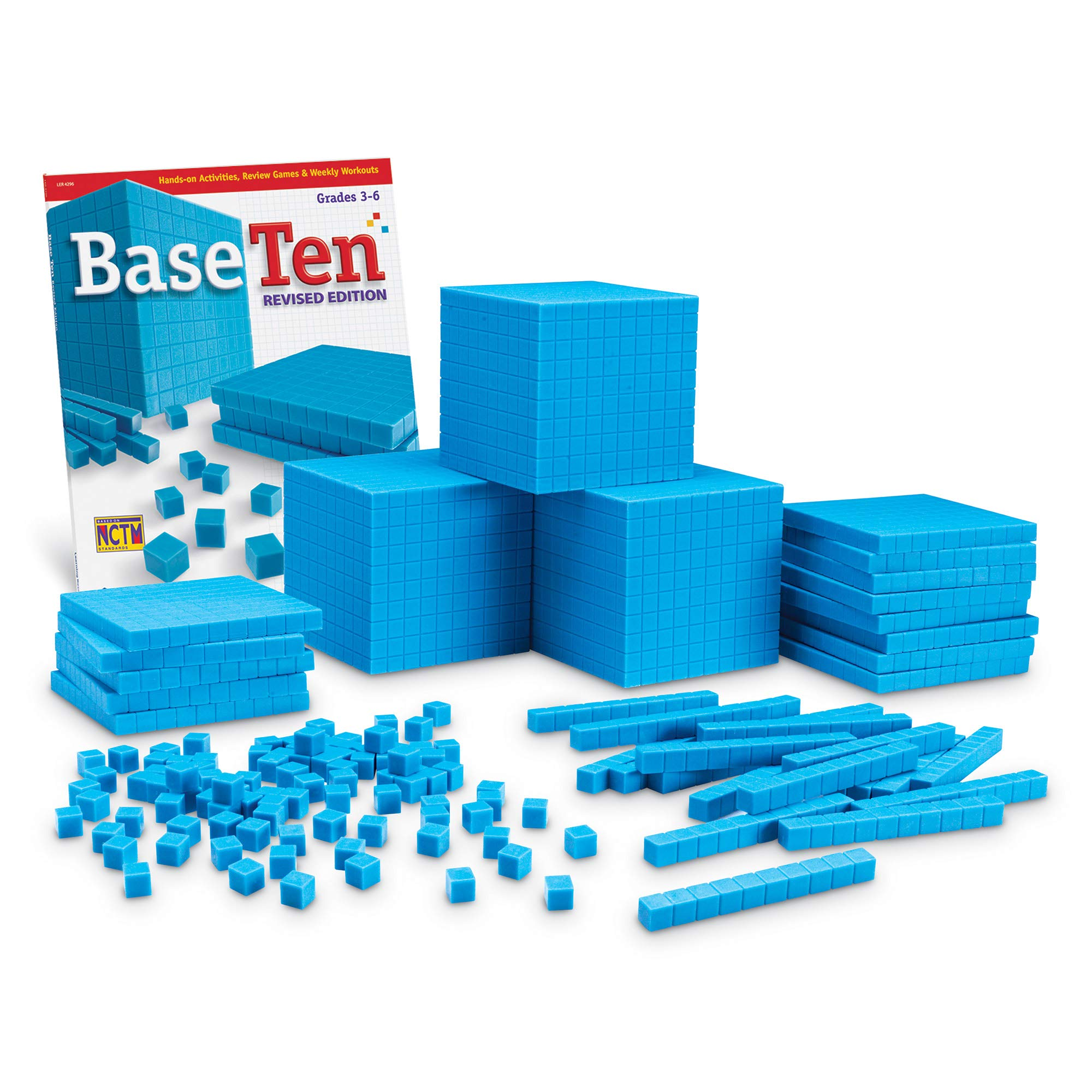 Learning Resources Plastic Base Ten Class Set by Learning Resources