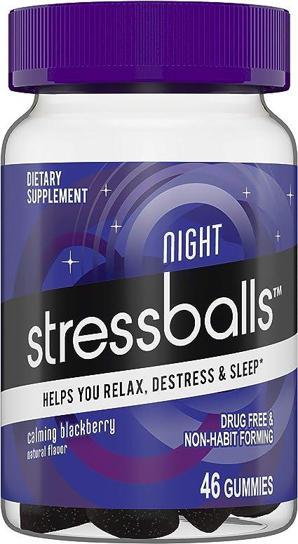 Amazon.com: Pelotas de estrés para la noche, relajación ...