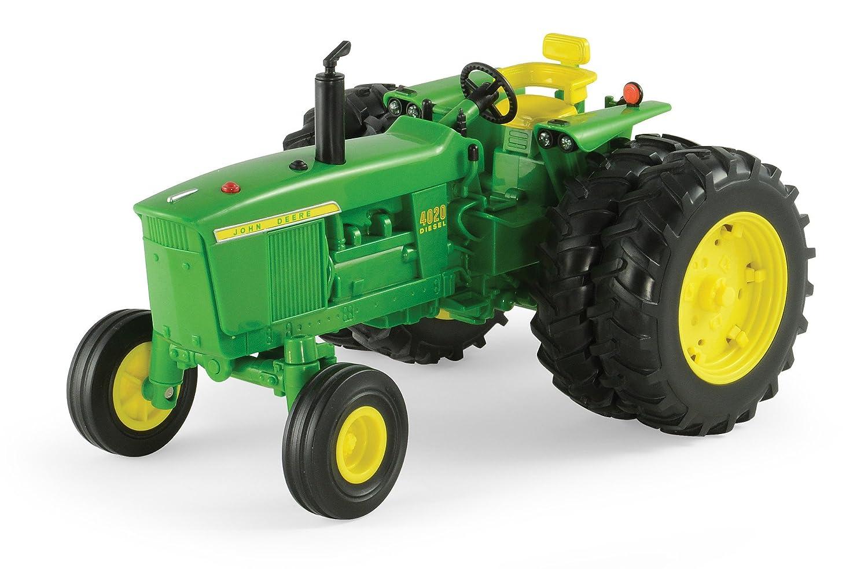 TOMY Ertl Big Farm 1:16 John Deere 4020 Wide Front Tractor