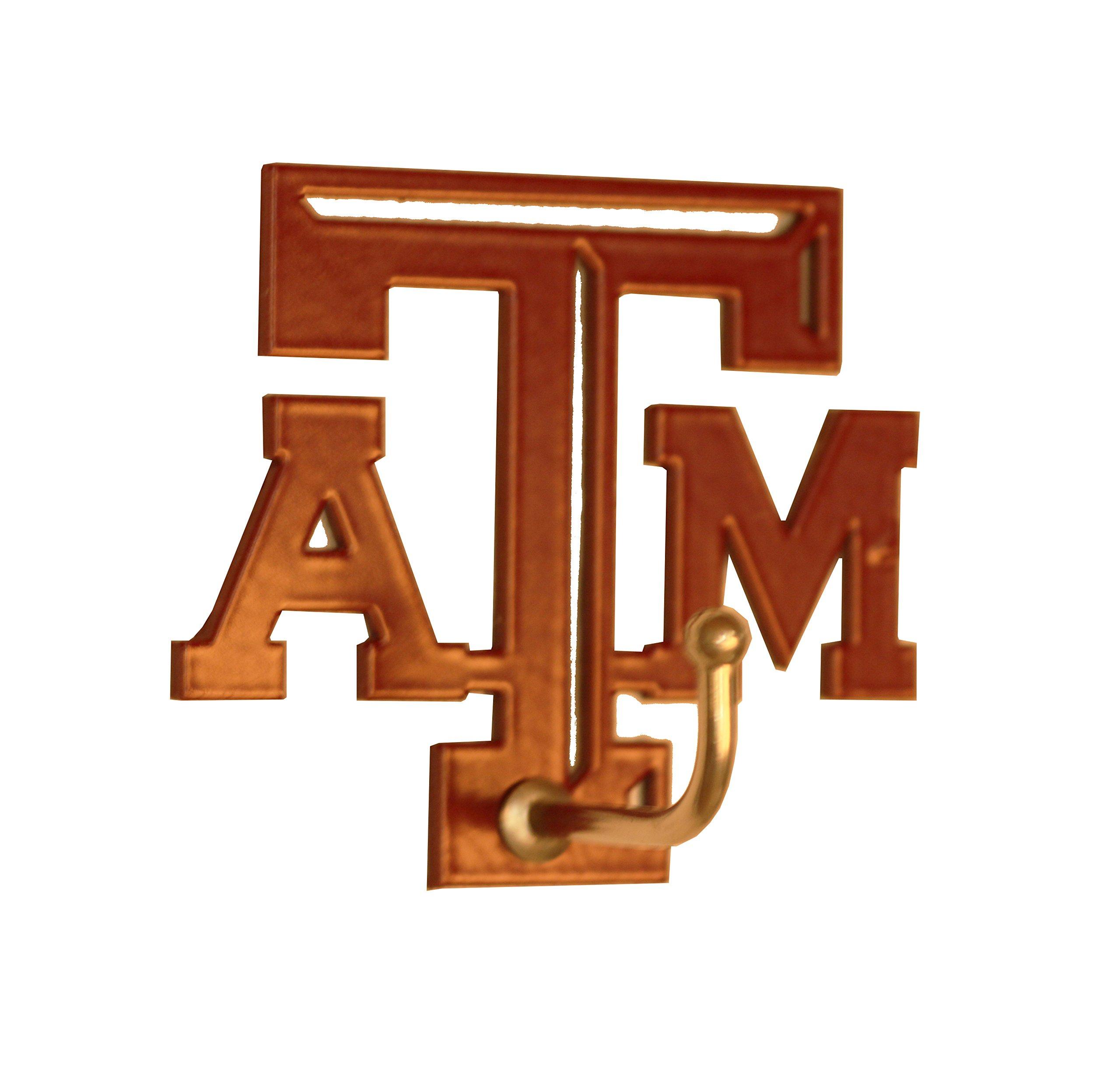 Henson Metal Works Texas A & M Medium Color Logo Wall Hook