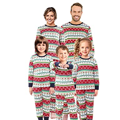 e13cb7c3d699 Matching Family Christmas Pajamas Set Pjs Holiday Pyjamas Xmas Sleepwear  Kids Boys Girls Nightwear,Men