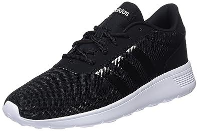 los angeles cfa89 da5de adidas Damen Lite Racer Laufschuhe Schwarz core BlackFootwear White 0, 38  EU