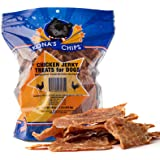 KONA'S CHIPS Chicken Jerky; Dog Treats Made In USA ONLY – 100% USDA Chicken, Chemical and Grain FREE. All Natural, Healthy & Safe Treats For Your Dog. 1 lb Bag