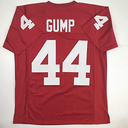 e25079a0e Image Unavailable. Image not available for. Color  Unsigned Forrest Gump  Alabama Maroon Custom Stitched Football Jersey Size Men s XL New ...