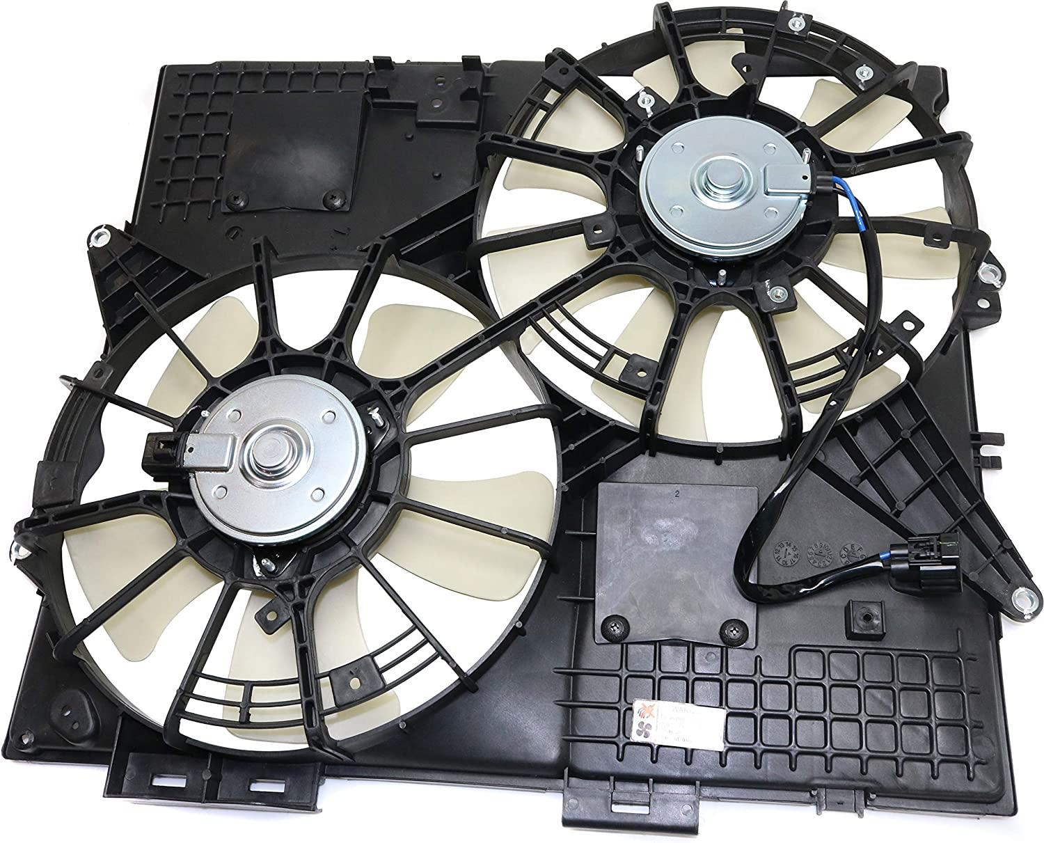 Cooling Fan Assembly Compatible with CADILLAC SRX/STS 2004-2008 3.6L/4.6L