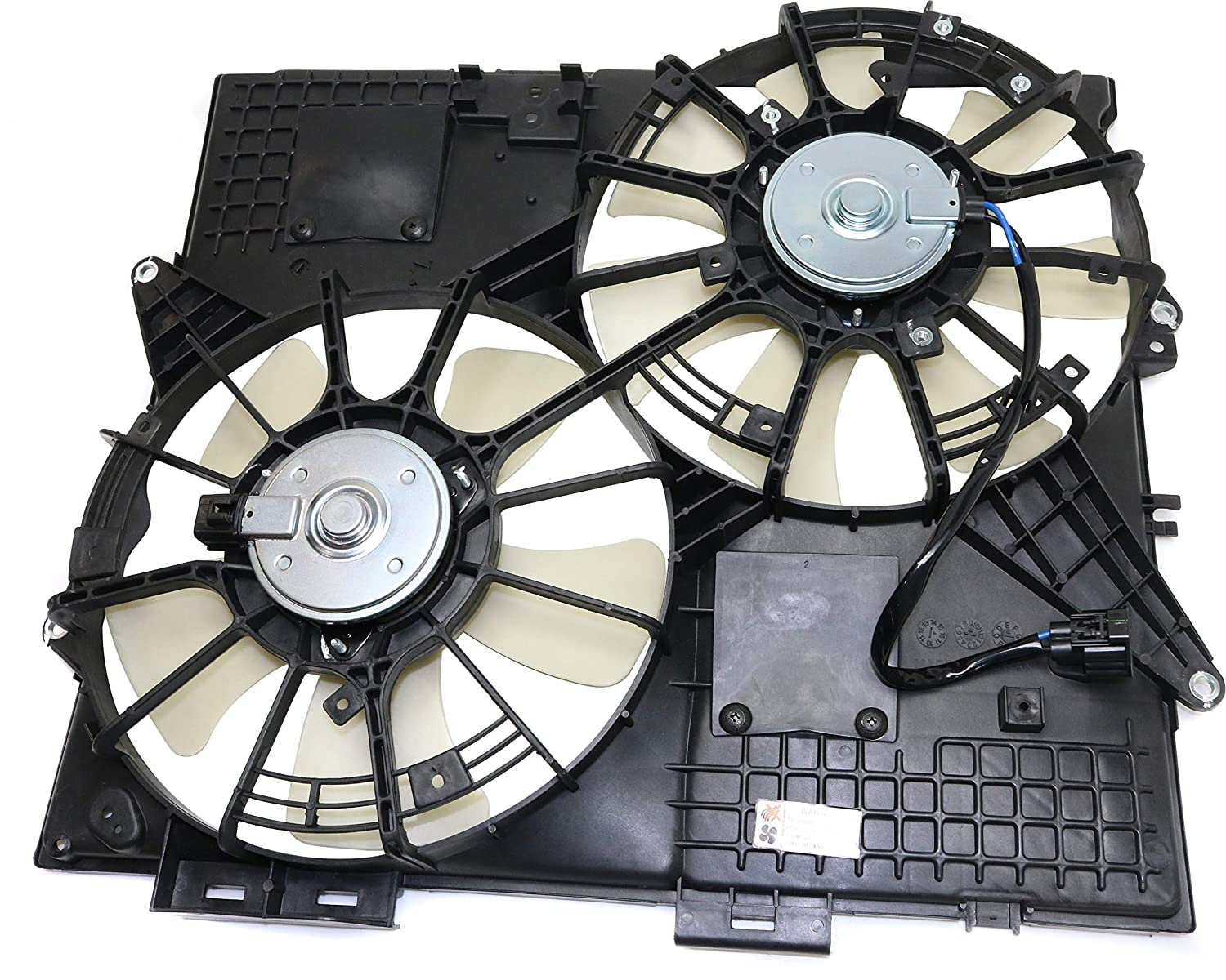 Cooling Fan Assembly Compatible with CADILLAC SRX/STS 2004-2008 ...