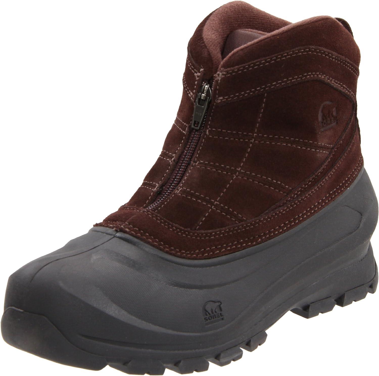 Amazon.com | Sorel Men's Cold Mountain Zip Casual Boot | Snow Boots