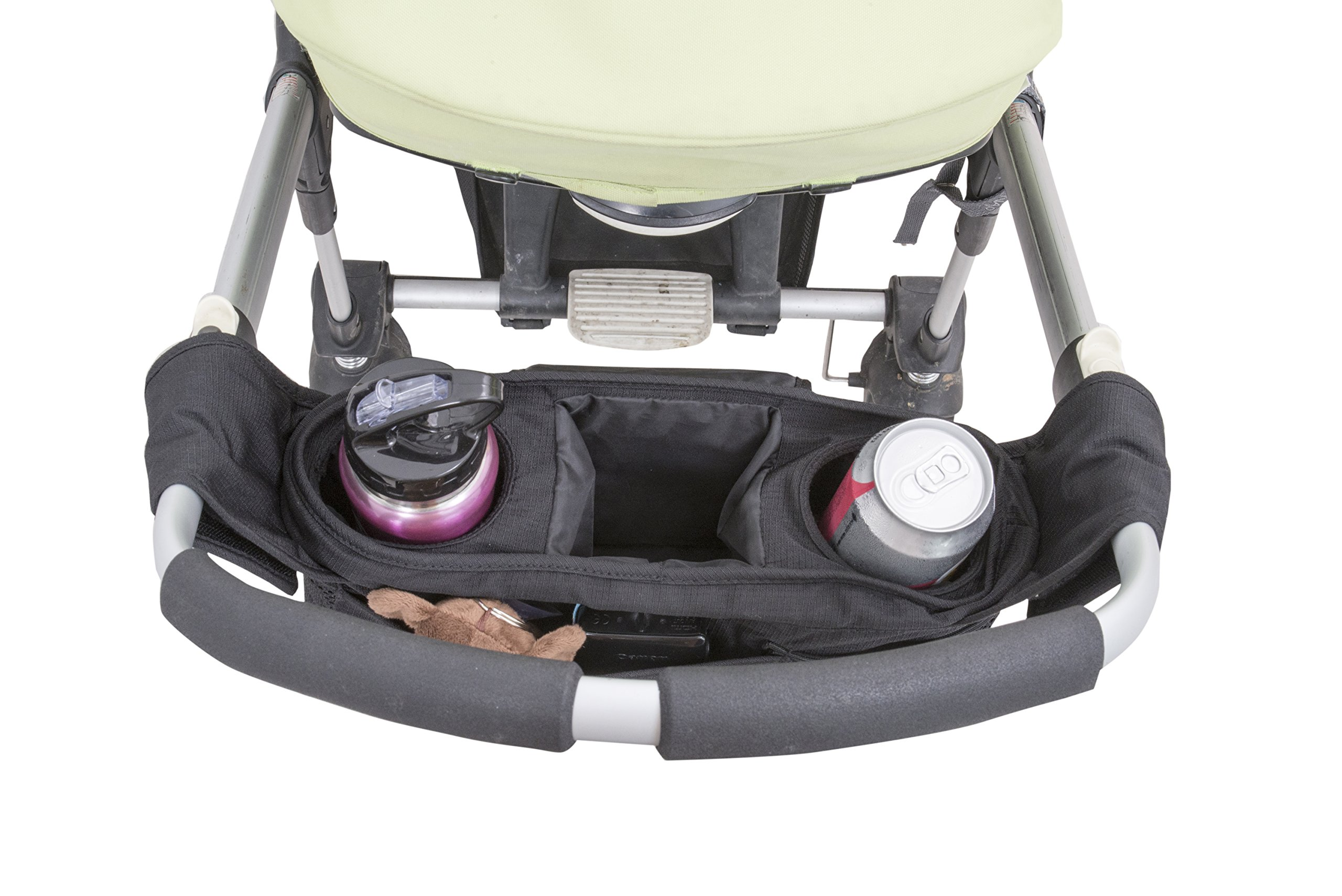 Quality Choices Universal Baby Stroller Organizer with Cup Holder and Two Hooks by Quality Choices (Image #4)