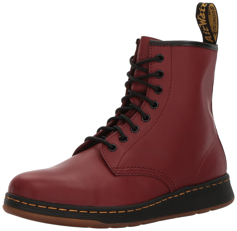 Dr. Martens Men's Newton Boot B07CPZBT4D 6 UK/7 M US Cherry Red Temperley