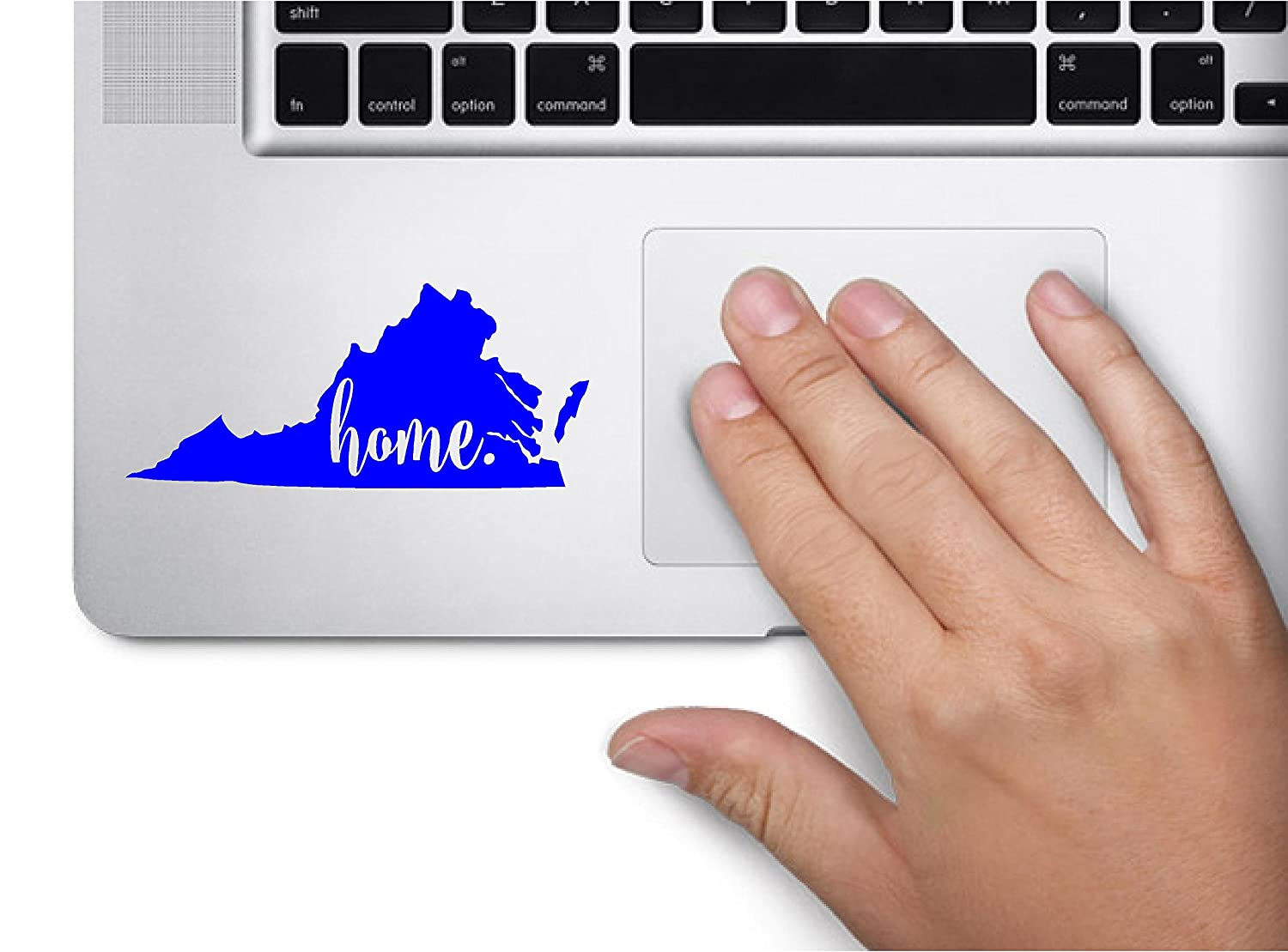 Amazon com 3 home virginia keypad richmond state computer laptop symbol decal family love car truck sticker window mint automotive
