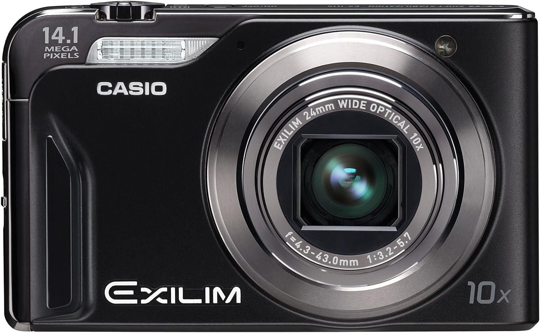 Casio Exilim Ex H15 Digitalkamera Schwarz Kamera