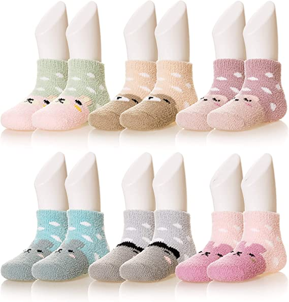 5 Pcs Packed Boy Children/'s Kids Animals Casual Cotton Short Socks 2-12 years