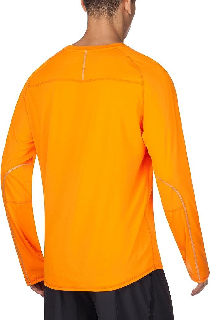 Saucony VELOCITY Long Sleeve men/'s new ornge size L