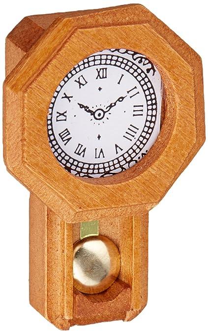 Amazon.com: Timeless Miniatures-Pendulum Wall Clock: Arts, Crafts ...