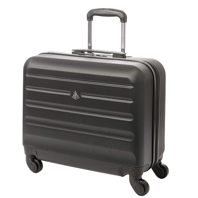 Aerolite Trolley Maleta maletín rígida para portátil Laptop pc 15,6