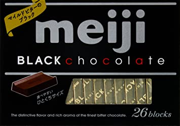 Food & Beverages Chocolate Meiji Black Chocolate Free Shipping From Japan