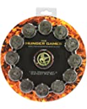 "NECA The Hunger Games Movie Pin Set ""Mockingjay and District Seals\"""