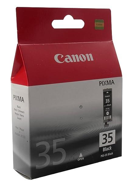 Canon PGI-35 Cartucho de tinta original Negro para Impresora de Inyeccion de tinta Pixma iP100-iP100wb-iP110-iP110wb