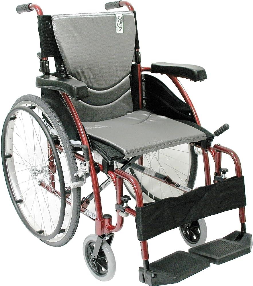 Karman Healthcare S-115 Ergonomic Ultra Lightweight Manual Wheelchair