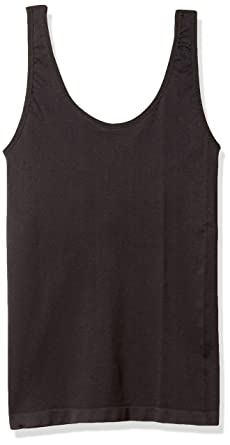 b94a6664093ff Ahh By Rhonda Shear Women s Plus Size Seamless Tank W Shelf Bra at Amazon  Women s Clothing store